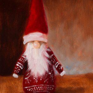 Christmas Gnome - Nanci Fulmek Art