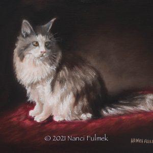 Le Chat - Nanci Fulmek Art