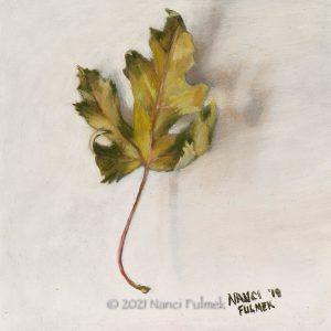 Leaf - Nanci Fulmek Art